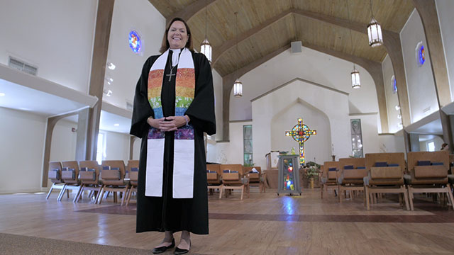 Reverend Martha Shiverick of Presbyterian Church in Miami