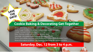 Get Your Christmas-Cookie Apron On, and Join Zoom!