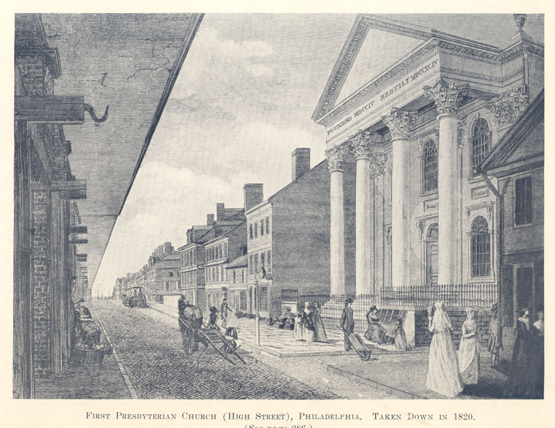 First Presbyterian Church, PHiladelphia