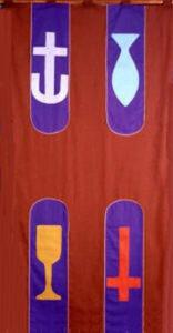 apostles creed flag